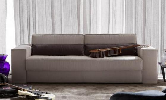 El sofá cama Bella Lì tiene alma de rock