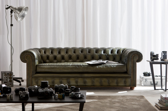 Richmond chester sofa de Berto Salotti