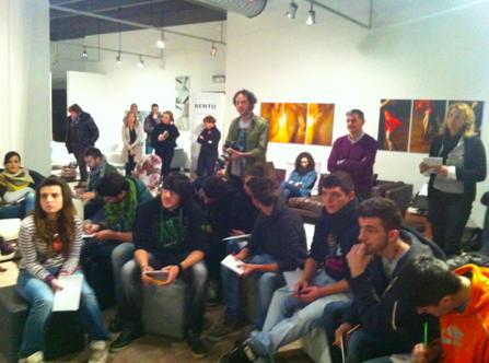 La primera sesión de creación de DivanoxManagua