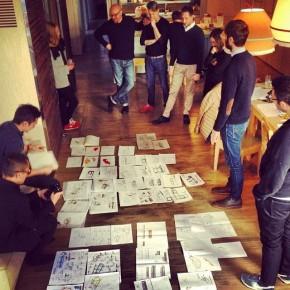 Sesión de trabajo del proyecto crowcrafting sofa4manhattan