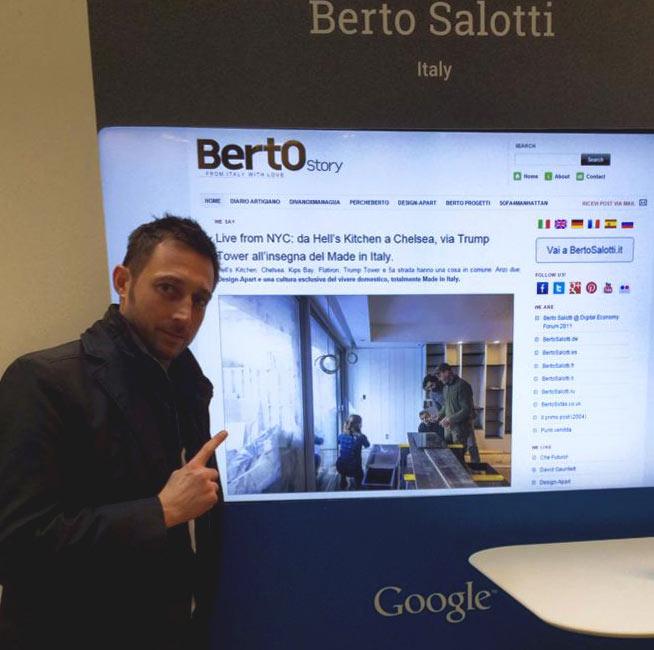Filippo Berto Google Ambassador