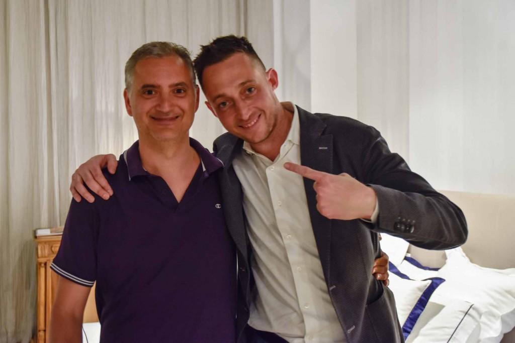 Paolo Ferrara y Filippo Berto