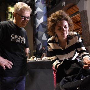 Alice Rizzetto e kingflavio sul capitonné di vanessa4newcraft