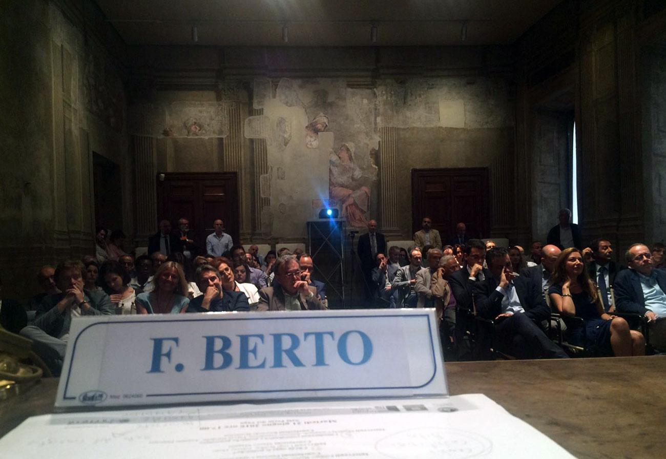 Filippo Berto partecipa a L'italia Generativa all'Istituto Luigi Sturzo di Roma