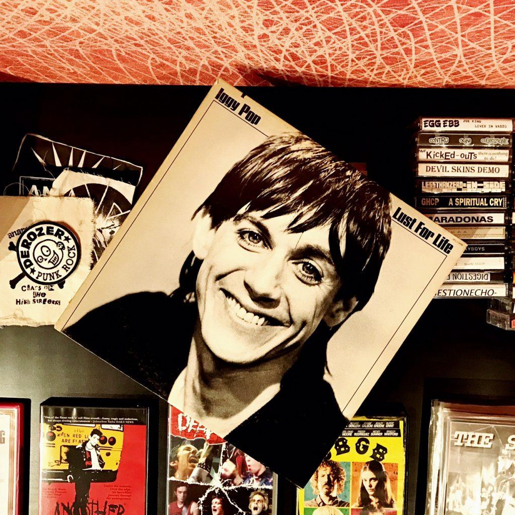 Iggy Pop y punk rock en el Berto - Bertolive showroom
