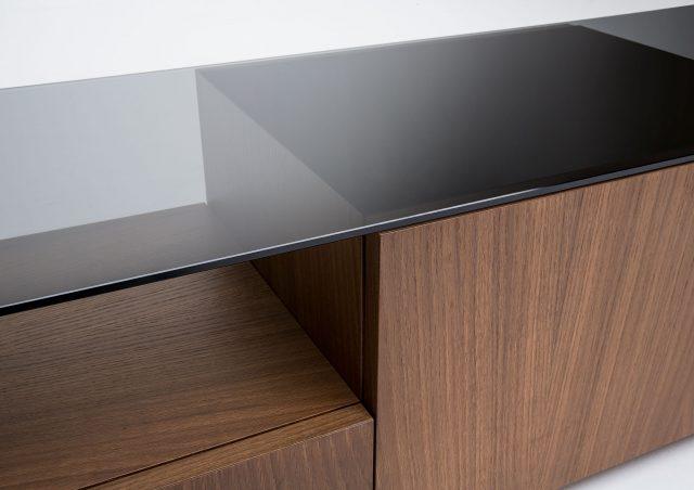 mueble TV Mike recubiertos con cristal