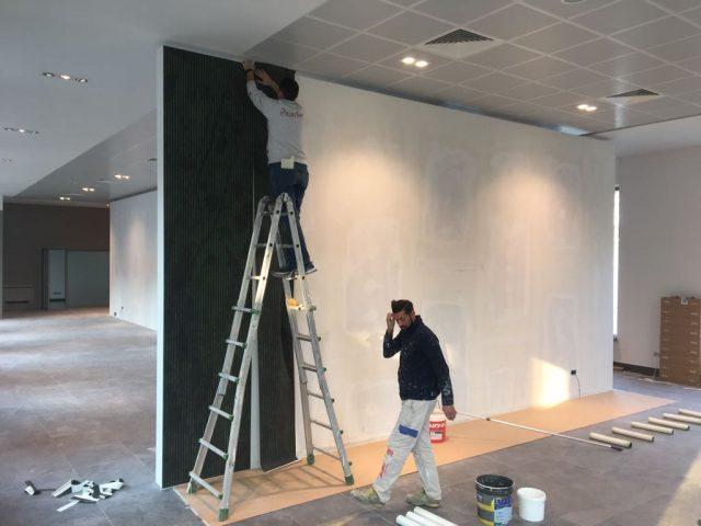 Showroom BertO Torino lavori in corso