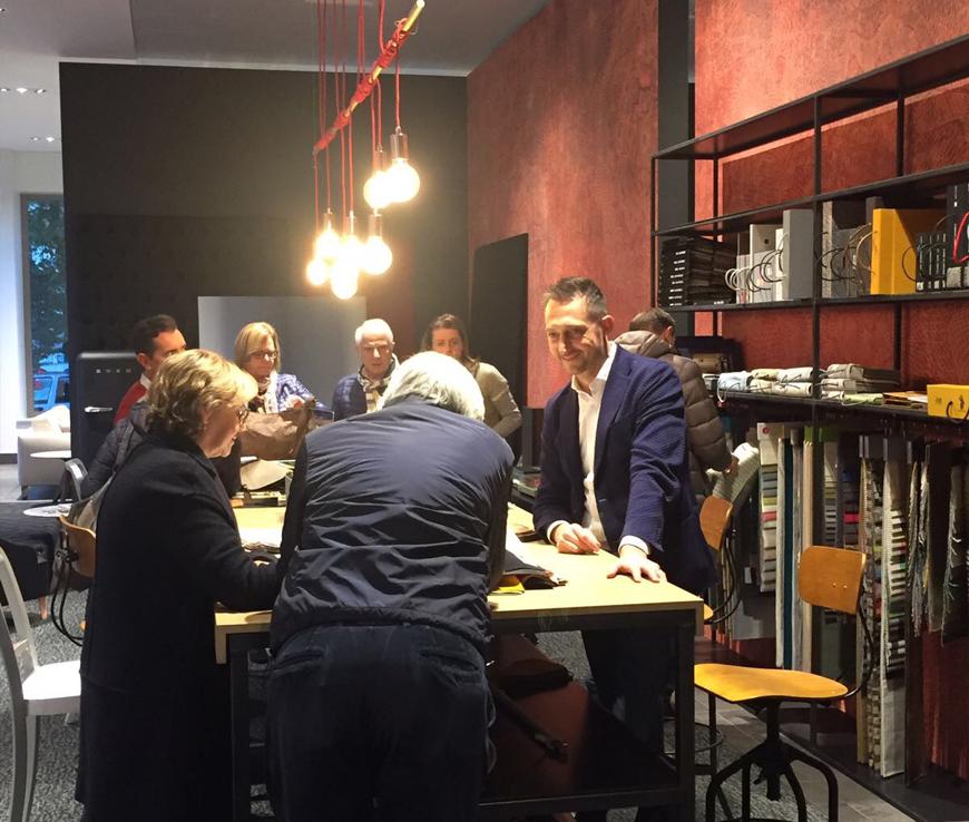 clienti showroom BertO torino