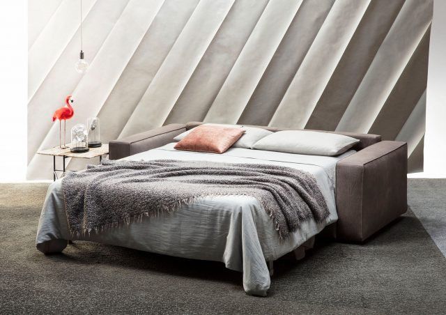 sofa cama nemo cuero plena flor berto salotti