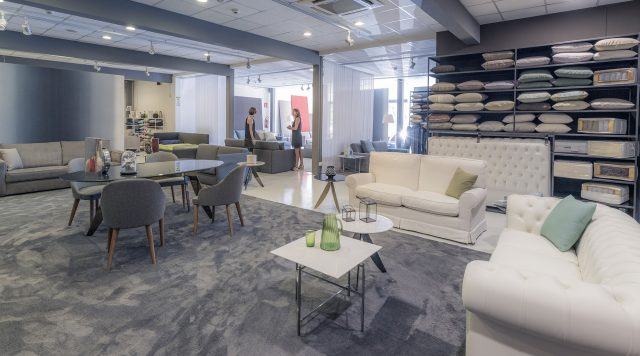 Showroom Berto Salotti Roma