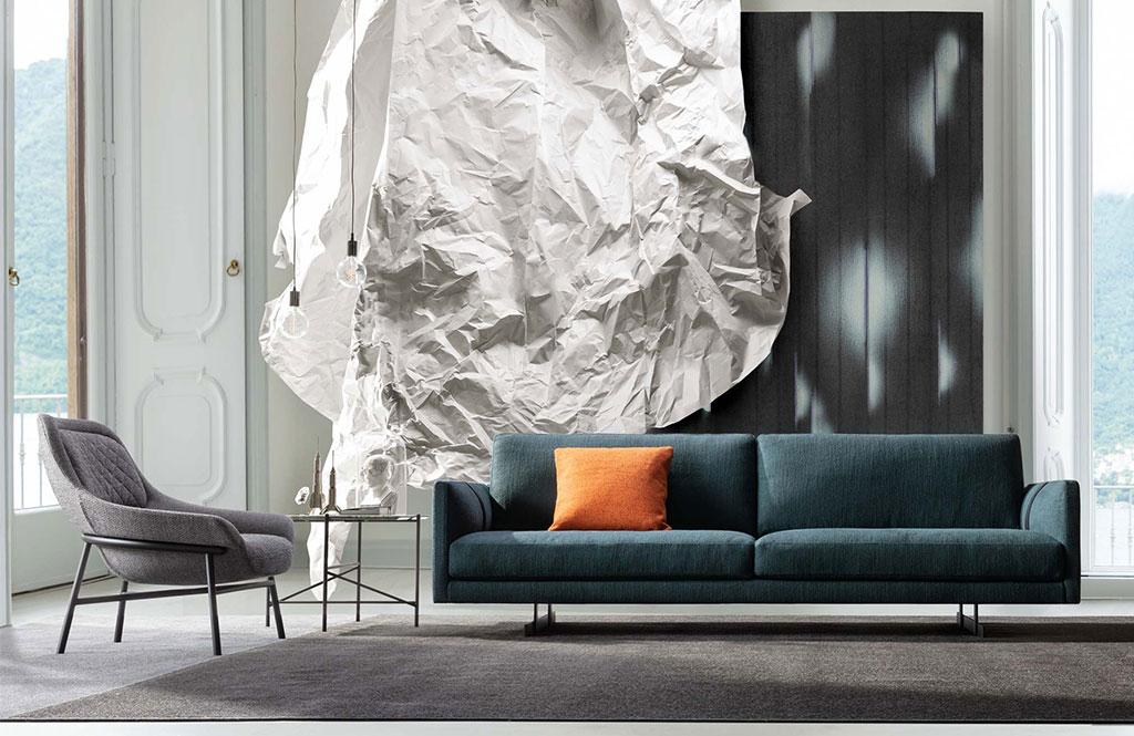 El sofá Dee Dee protagonista de la revista Living