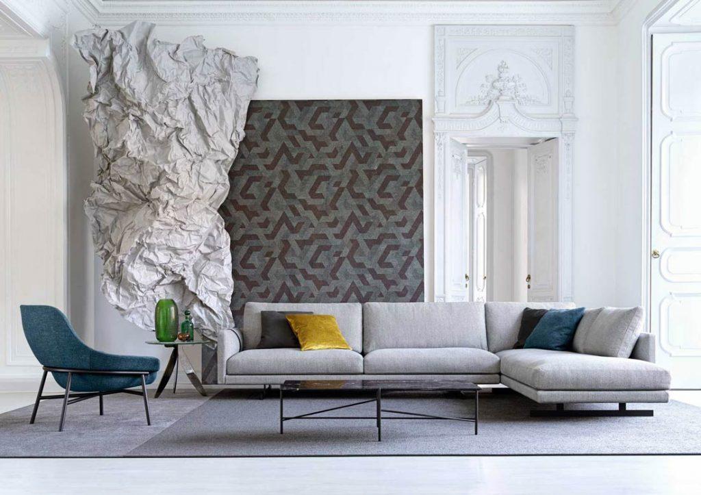 Textiles para el sofá Dee Dee BertO the Dream Design Made in Meda