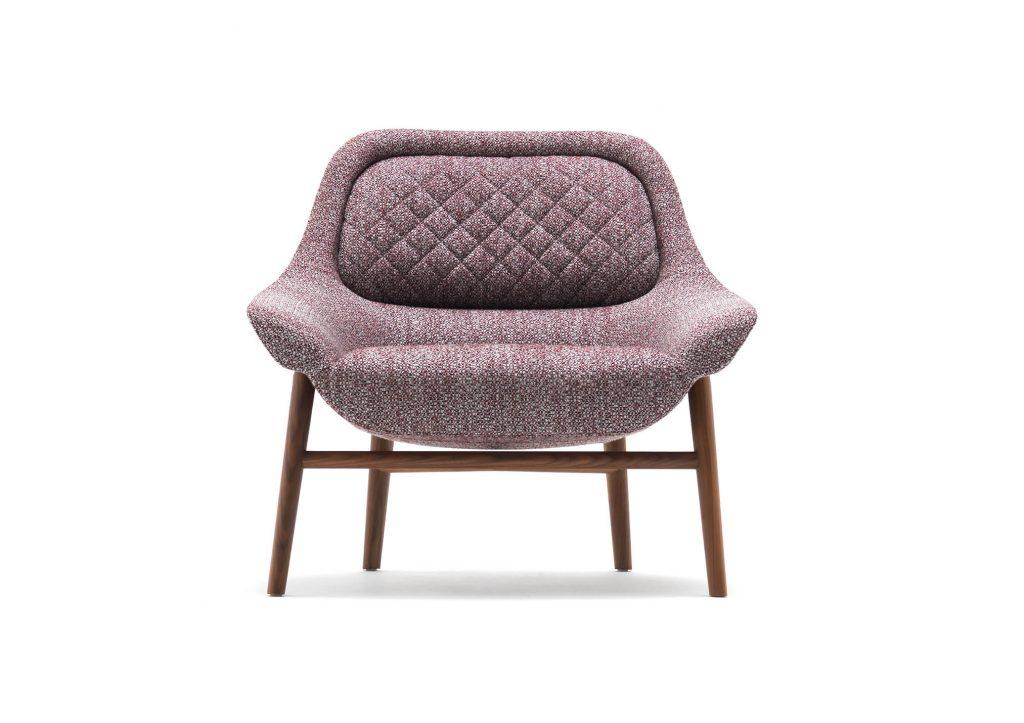 Sillón Hanna by BertO, diseño Castello Lagravinese studio realizado para el MDFF 2020