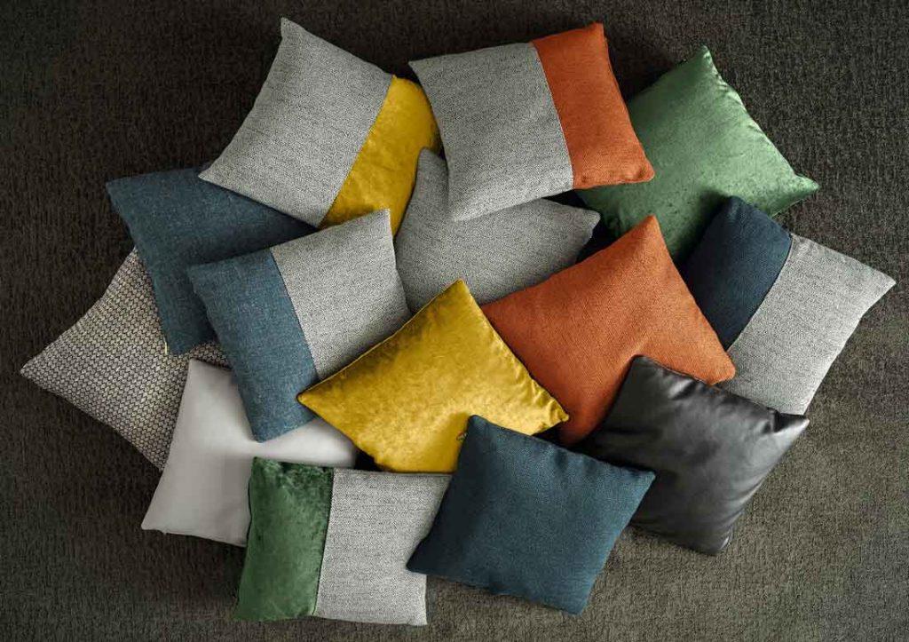 Colección de cojines decorativos para sofá