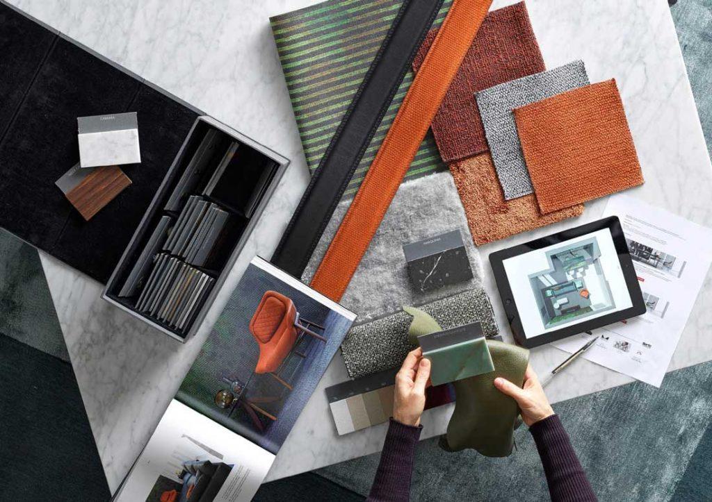 Asesoramiento sobre mobiliario con los diseñadores de interiores de BertO