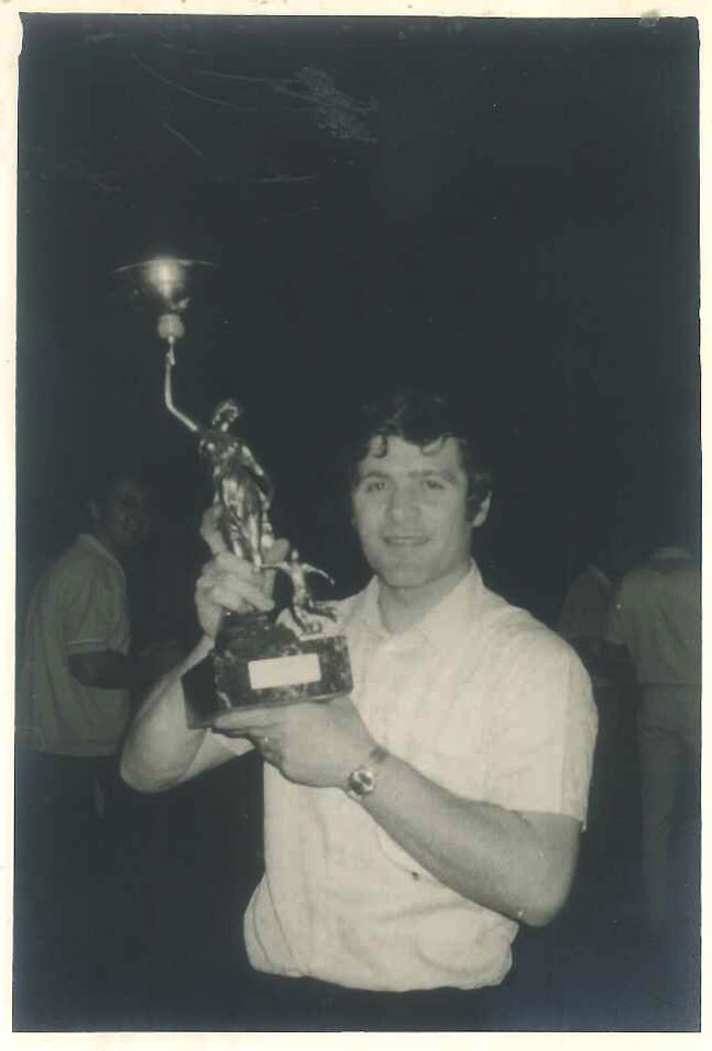 Carlo Berto en los años 70
