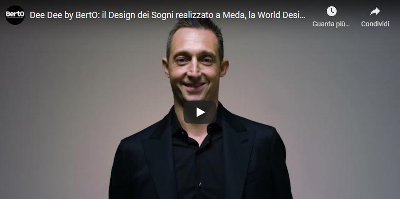 Vídeo Filippo BertO sofá Made in Meda